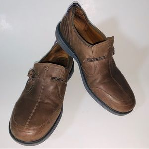 Cobb Hill Brown Leather Slip on Shoes